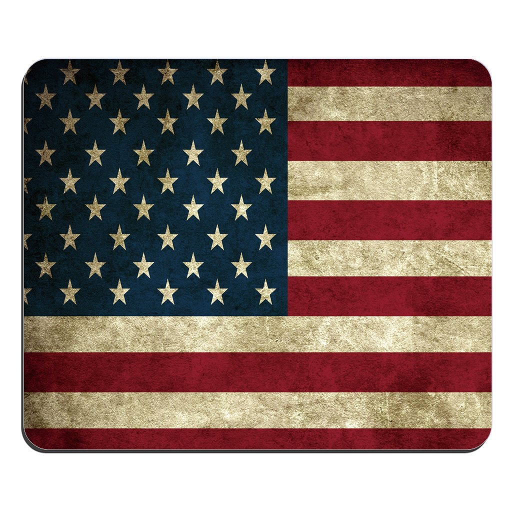 46129b403e2cf Fashion Mouse Mat USA America Flag Customized Rectangle Mousepad by Mouse  Pads