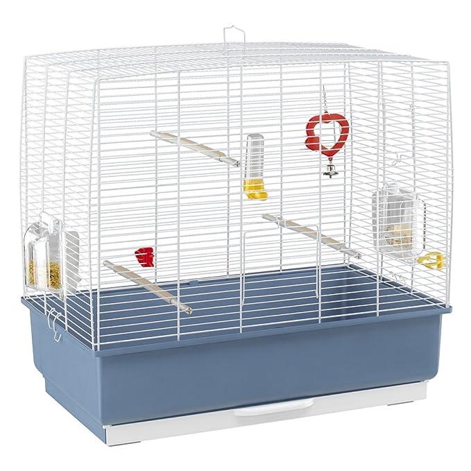 Ferplast Jaula para pájaros, con Todos los complementos, para ...