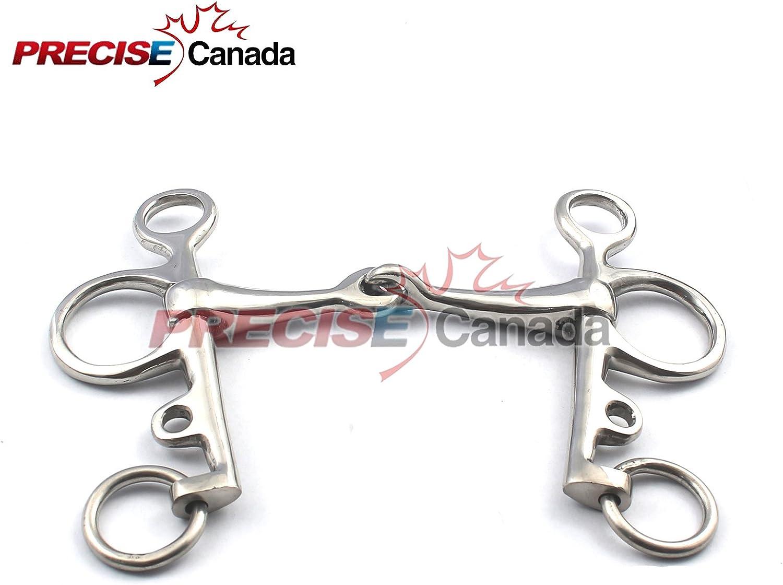 PRECISE CANADA PELHAM BIT STAINLESS STEEL BT-0020