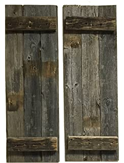 Amazoncom Old Rustic Window Barnwood Frames Not For Pictures