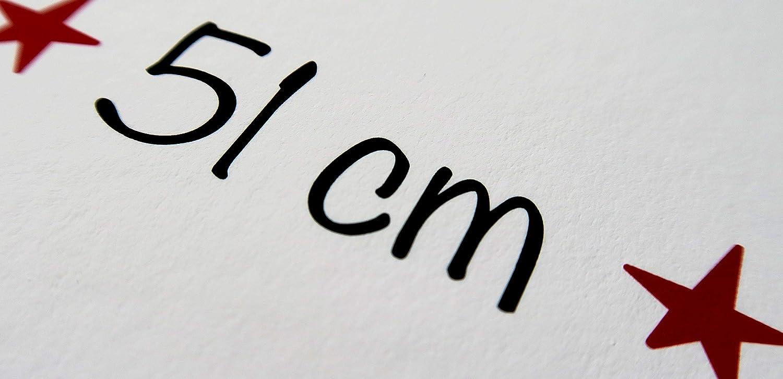 Geburtstag als personalisiertes Geschenk f/ür Jungen oder M/ädchen als Kunstdruck in DIN A4 A3 A2 Meilensteintafel zum 1