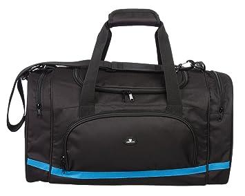 Case4Life Black Water Resistant Sport   Gym Holdall Duffle Bag + Padded  Removable Shoulder Strap - c4e5c900099c2