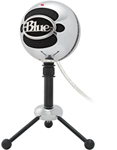 Blue Snowball USB Microphone (Brushed Aluminum)