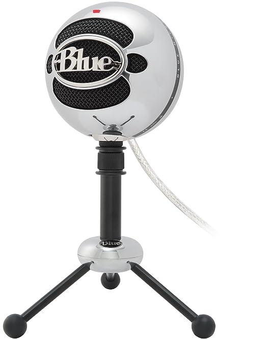 35 opinioni per Blue Microphones Snowball Microfono USB, Alluminio satinato