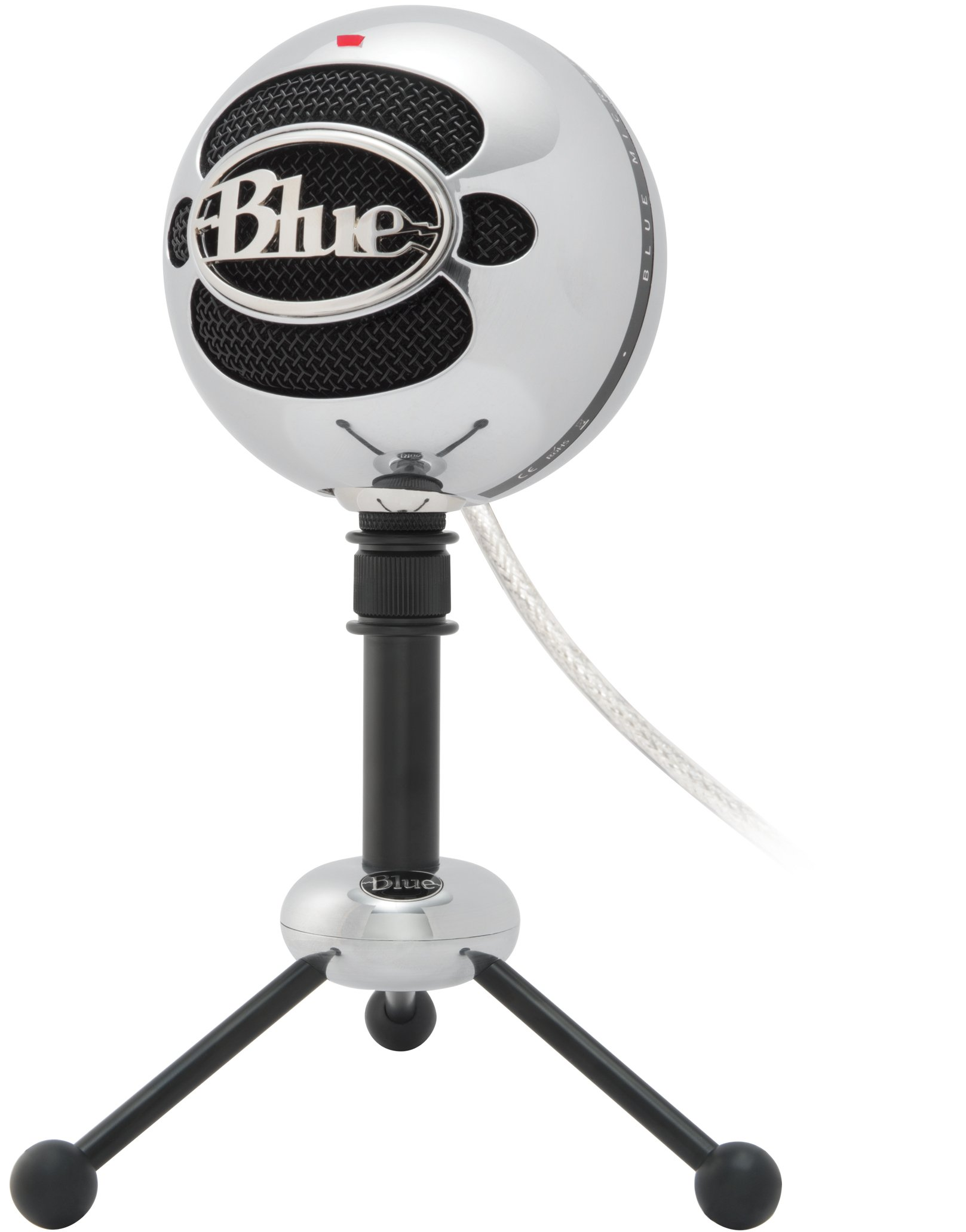 Blue Snowball USB Microphone (Brushed Aluminum) by Blue