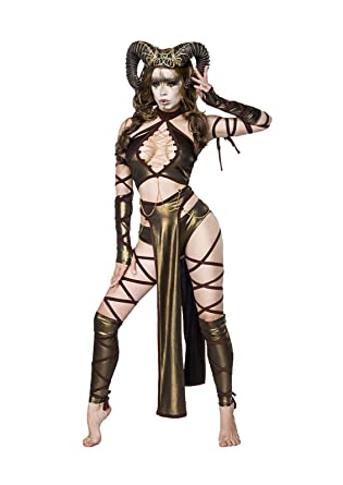 e0bc360747 Amazon.com  MASK PARADISE Women Succubus Complete Set  Clothing