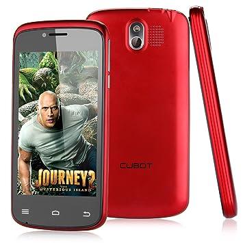 CUBOT GT95 Rojo Movil 3G Con Pantalla de 4