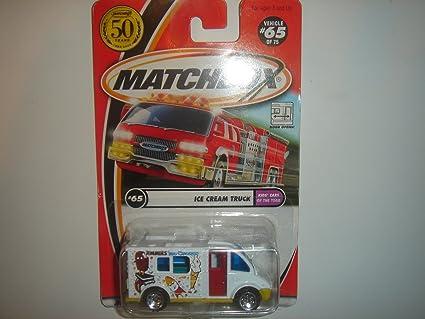 Matchbox Ice Cream Truck White #65 Of 75