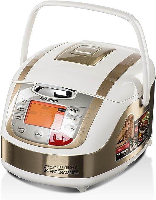 Redmond RMC-M4502FR – Robot multicocina, 34 programas -Menú francés (puede no estar en español) (color blanco): Amazon.es: Hogar