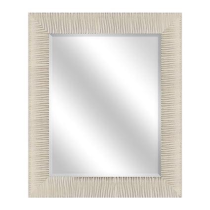 30 x 36 mirror chrome framed bp industries 182842229s alice wall mirror 30x36 ivory amazoncom 30x36
