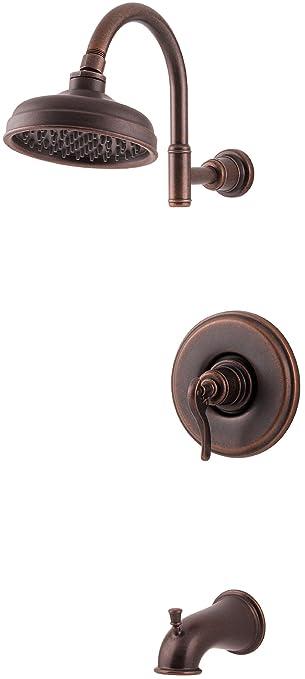Pfister Ashfield 1 Handle Tub U0026 Shower Faucet, Rustic Bronze
