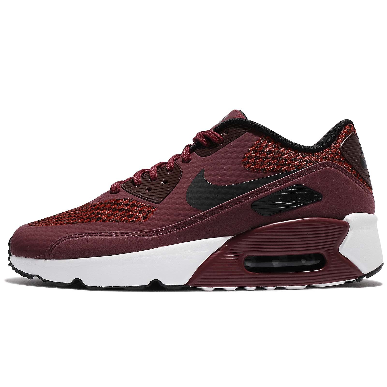 separation shoes 20e67 46ea0 NIKE Air Max 90 Ultra 2.0 SE GS Junior Running Trainers 917988 Sneakers  Shoes (UK 6 US 6.5Y EU 39, Team red Black Dark Grey 600)