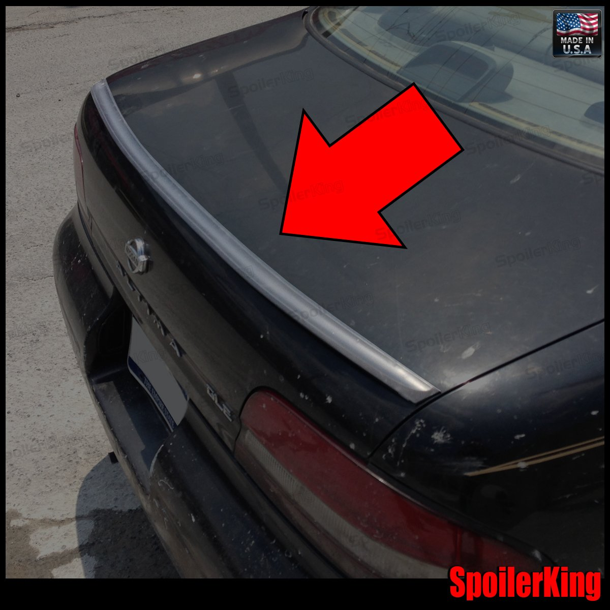 Spoiler King Trunk Lip Spoiler (244L) Compatible with Nissan Altima 1993-1997