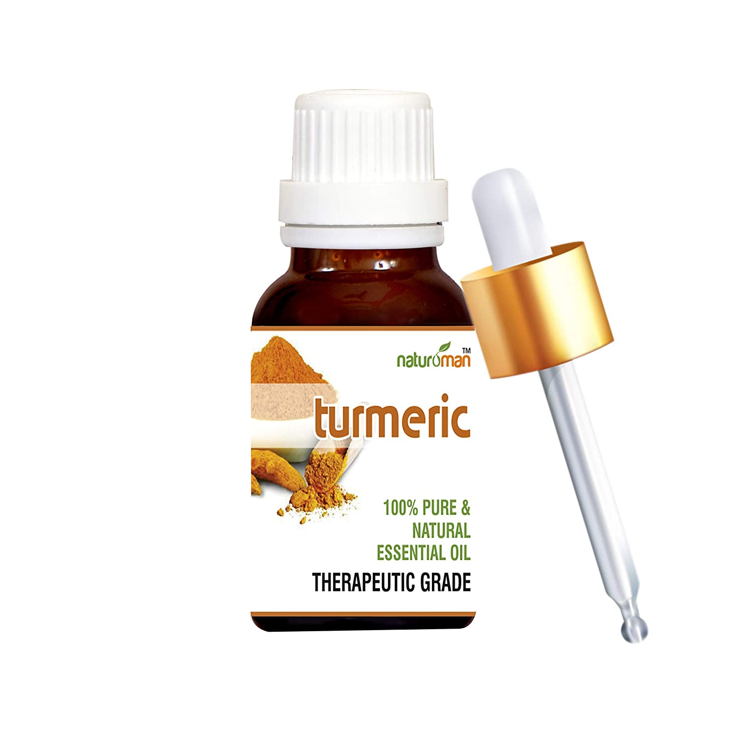 Buy Naturoman Turmeric Pure And Natural Essential Oil Therapeutic Grade For Liver Health And Fight Colon Cancer 15 Ml Online At Low Prices In India Amazon In