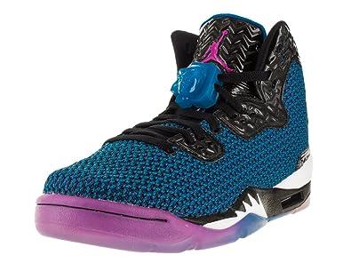 best service 560cc e6942 Amazon.com   Nike Jordan Kids Air Jordan Spike Forty Bg Black Fr Pink Pht  Bl Atmc Orng Basketball Shoe 7 Kids US   Basketball
