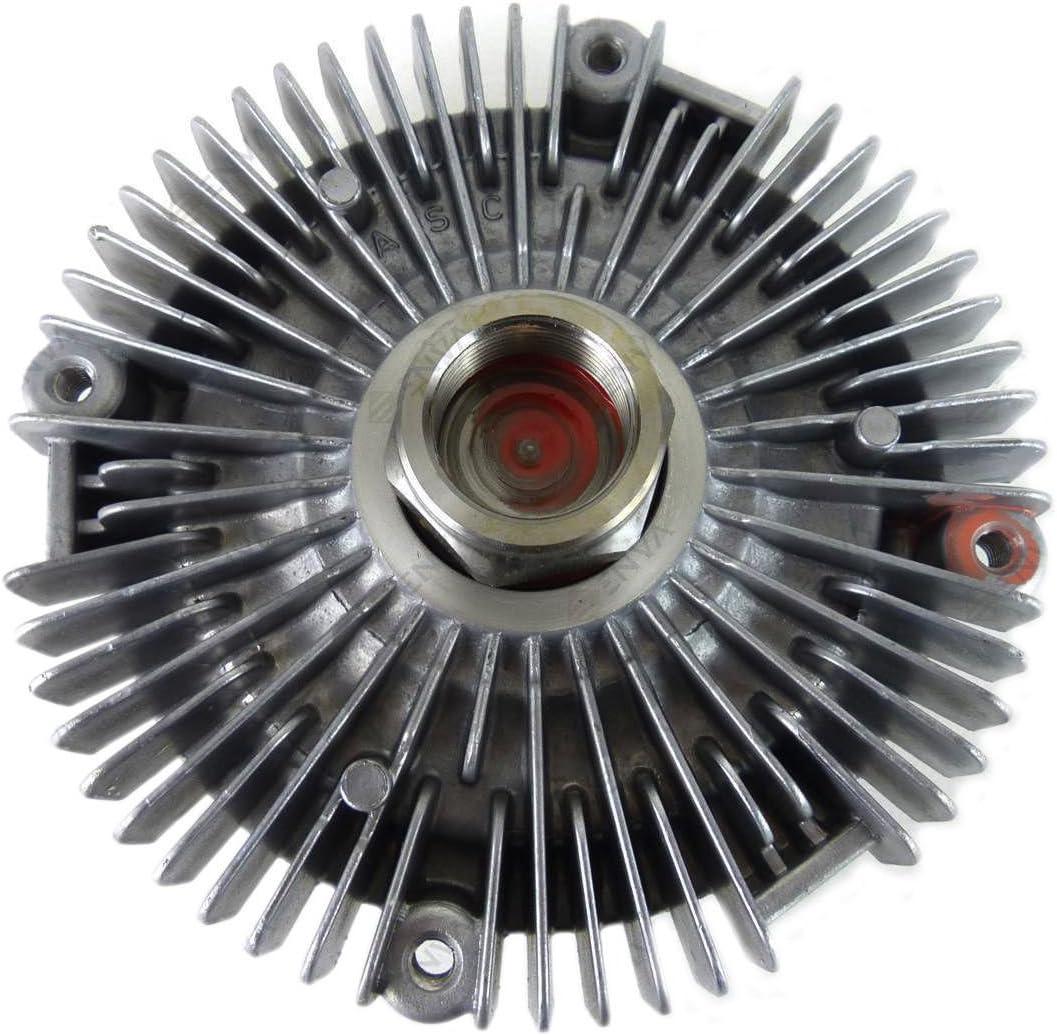 TK Car Parts - Ventilador de refrigeración para radiador de viscosos de 2,5 diésel 88 VB 8A616 AA,6176701: Amazon.es: Coche y moto