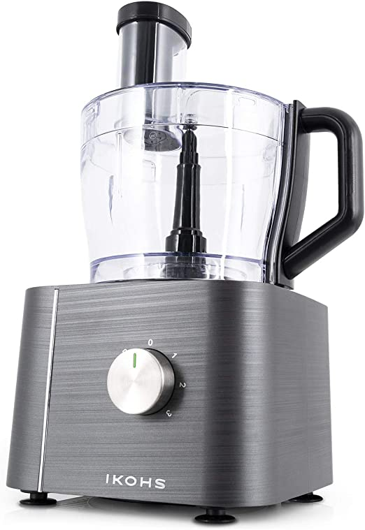 IKOHS KUTCREW - Procesador de Alimentos, Robot de Cocina Multifunción, Picadora, Batidora, Amasadora, Ralladora ...