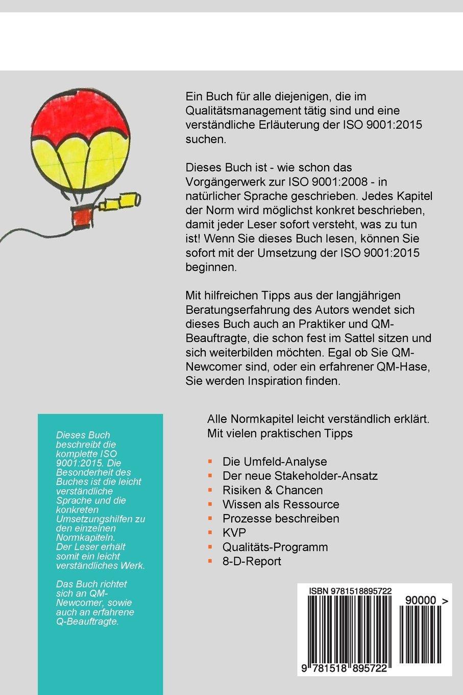 ISO 9001:2015 einfach erklärt (German Edition): Christof Dahl ...