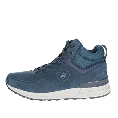 Beverly Hills Polo Club BH-7000 Sneakers Hombre Azul 41: Amazon.es ...