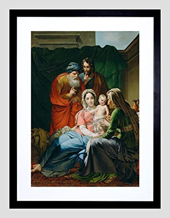 amazon com painting paelinck the holy family small framed art print
