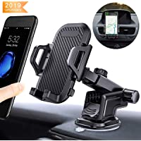 KAILH Support Telephone Voiture Ventilation Support Voiture Ventouse Universel avec Rotation 360° Support Voiture au Pare-Brise Tableau Bord Sortie d'air pour Iphone Samsung Galaxy Note Huawei Sony