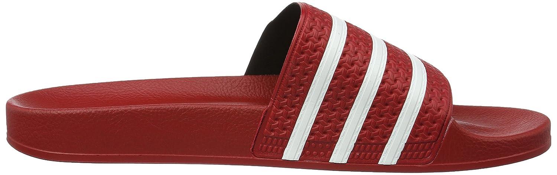 pretty nice 6325f 9f122 Adidas Adilette, Chaussures de Plage  Piscine homme - Rouge (Light  ScarletWhiteLight Scarlet), 37 Amazon.fr Chaussures et Sacs