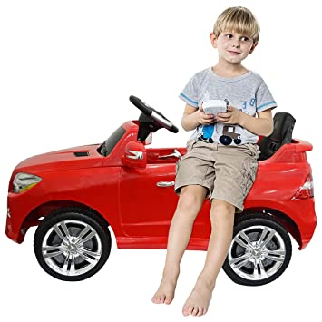 costzon mercedes benz ml350 6v electric kids ride on car licensed mp3 rc remote control
