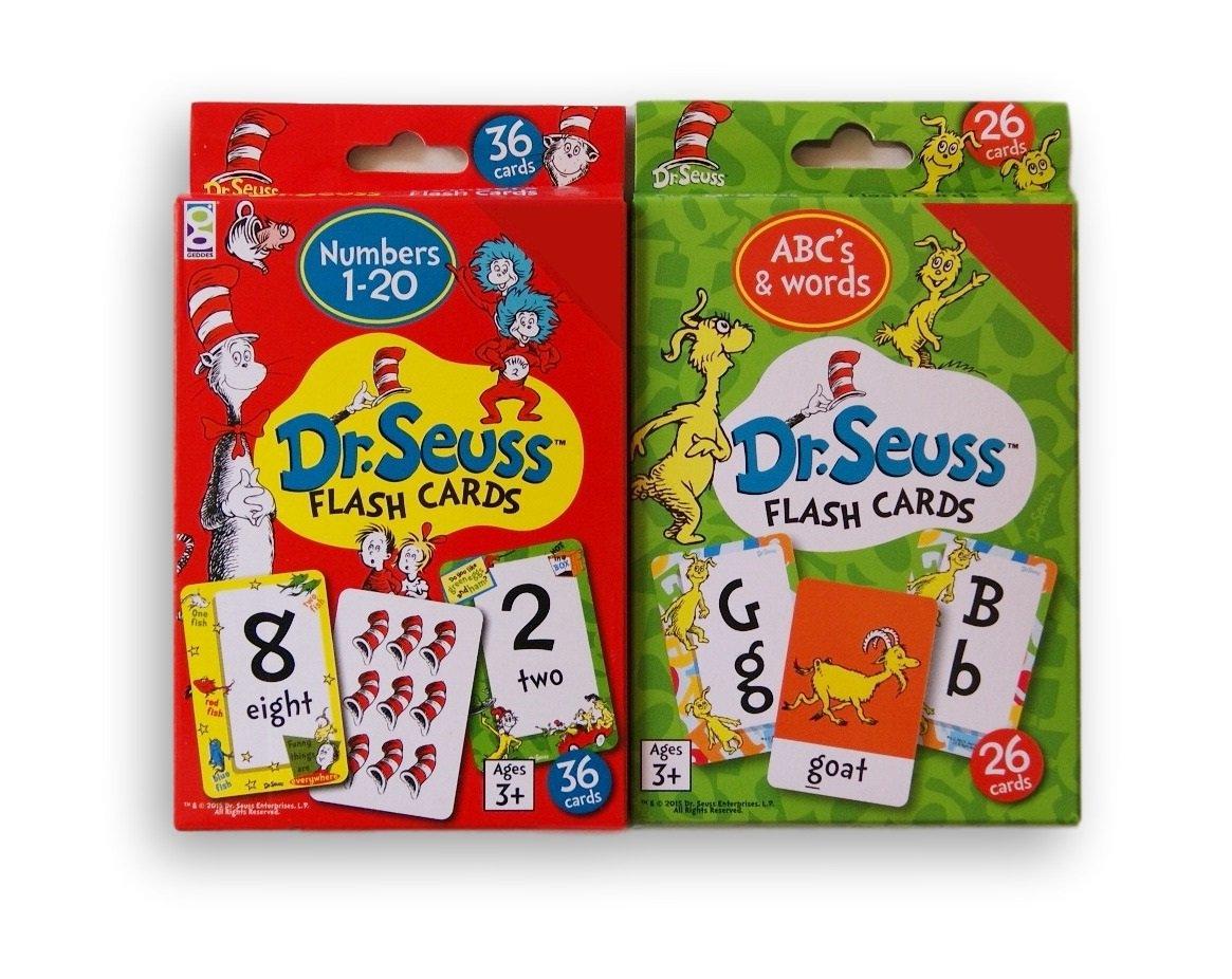 【オープニング大セール】 [ドクタースース]Dr. Seuss Educational Bundle Flash Card Card Bundle ABCs & Words Words and Numbers [並行輸入品] B01MFXP2KR, アワーズクラブ:d1b3bb33 --- mrplusfm.net