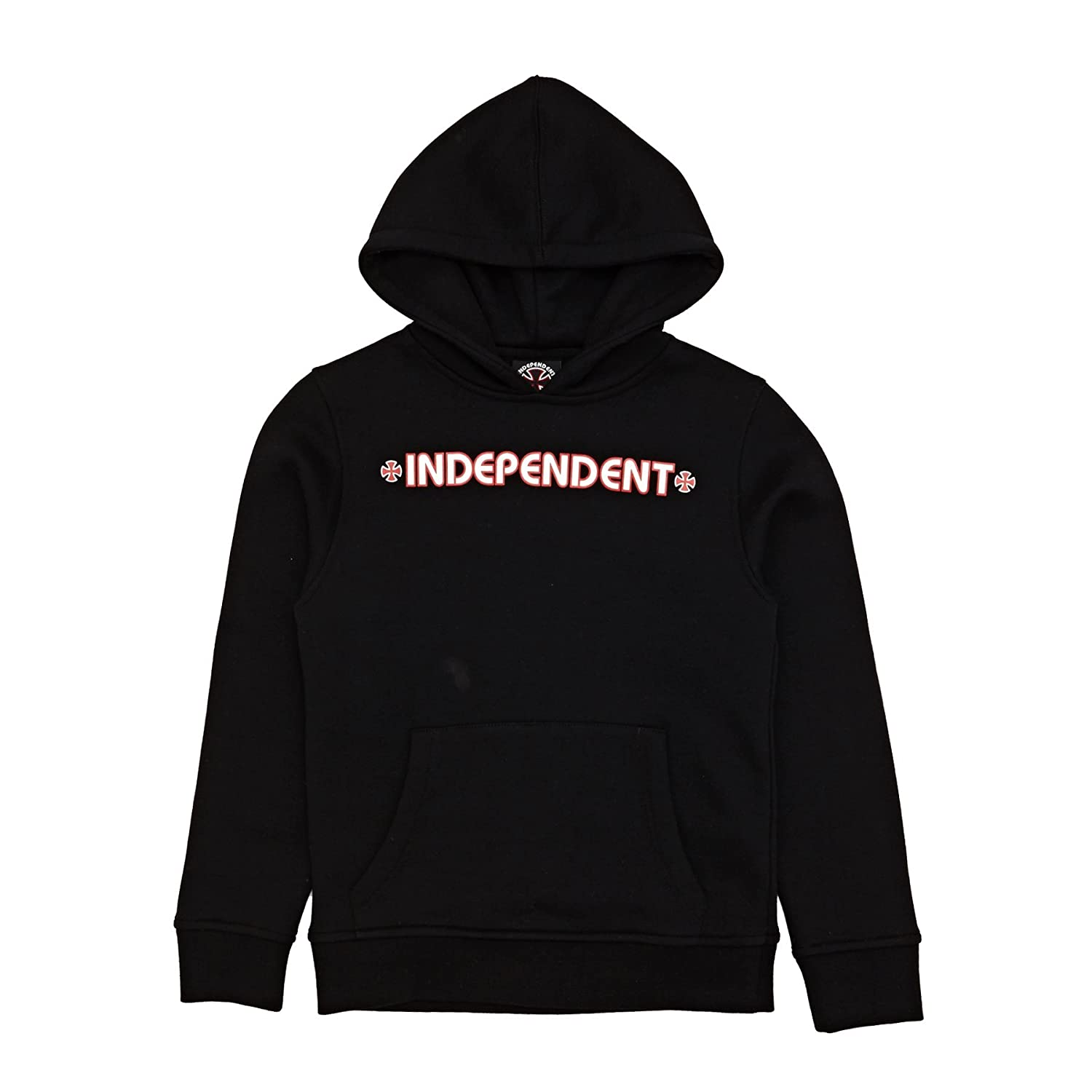 Independent Sudadera con Capucha Infantil Bar Cross Negro: Amazon.es: Ropa y accesorios
