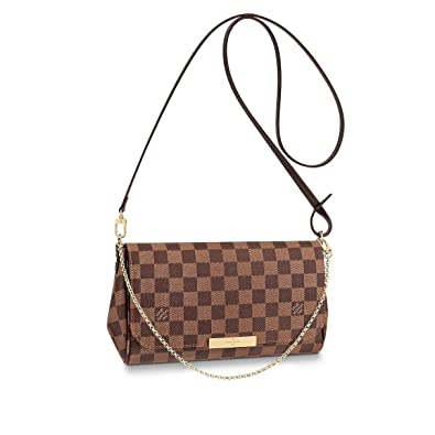 555dc0f0 Louis Vuitton Favorite Shoulder Bag (MM, Damier Ebene Canvas ...