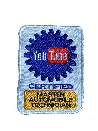 Amazoncom Youtube CERTIFIED Master Automobile Technician patch 3