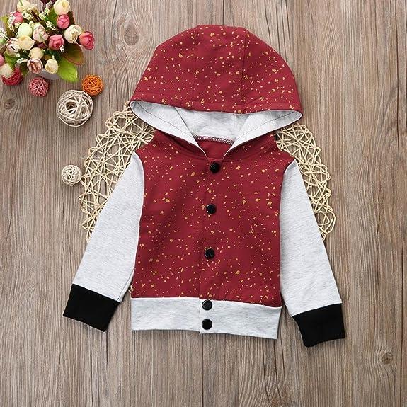 35127ea64 Amazon.com  Shybuy Baby Boy s Hooded Fleece Coat Winter Outwear  Shoes