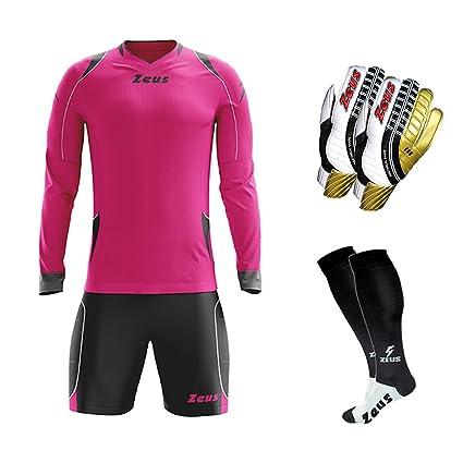 Zeus - Conjunto de portero de fútbol, medias y guantes ...
