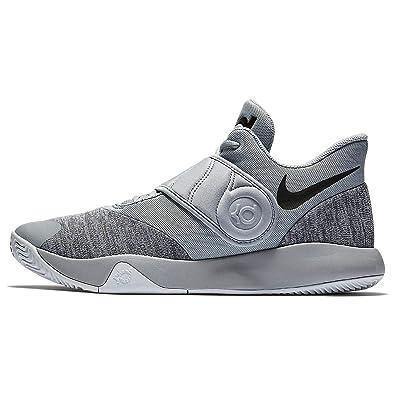 low priced 0732e b8d4c Nike Men s KD Trey 5 VI Basketball Shoe Wolf Grey Black White Size 7.5