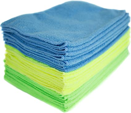 12-Pack Zwipes 735 Microfiber Towel Cleaning Cloths