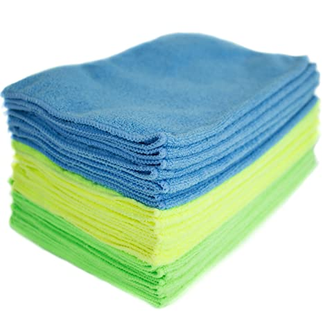 Open-Minded 10x Blue Microfiber Cleaning Auto Car Detailing Soft Cloths Wash Towel Duster Ebay Motors Home & Garden