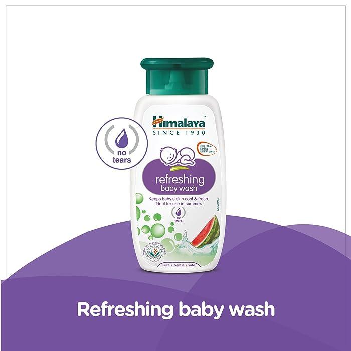 Himalaya Baby Care Refreshing Baby Wash, 100ml