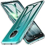 KUGI Nokia 7.2 Case, Premium Back Soft TPU Gel Nokia 6.2/Nokia 7.2 Clear Case Cover For Nokia 7.2 Mobile Phone
