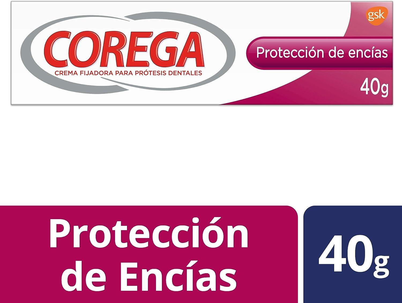 Corega - Crema Fijadora para Prótesis Dentales - Protección de ...