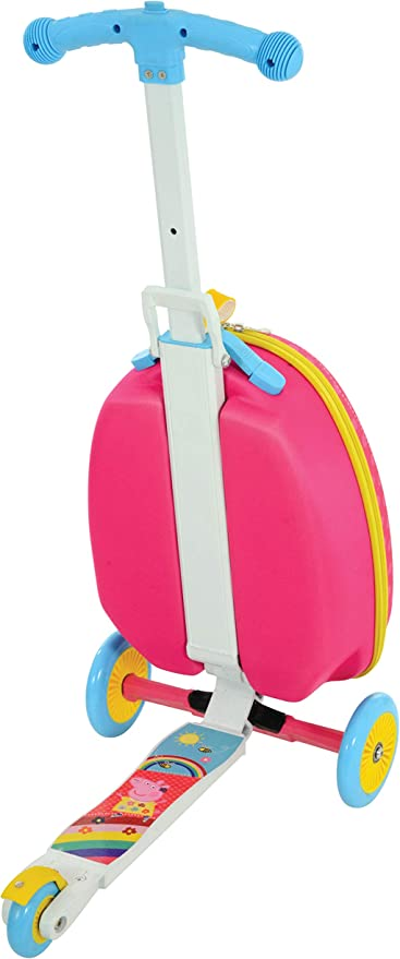 Amazon.com: Peppa Pig M14710 Peppa Scooter - Maleta con ...