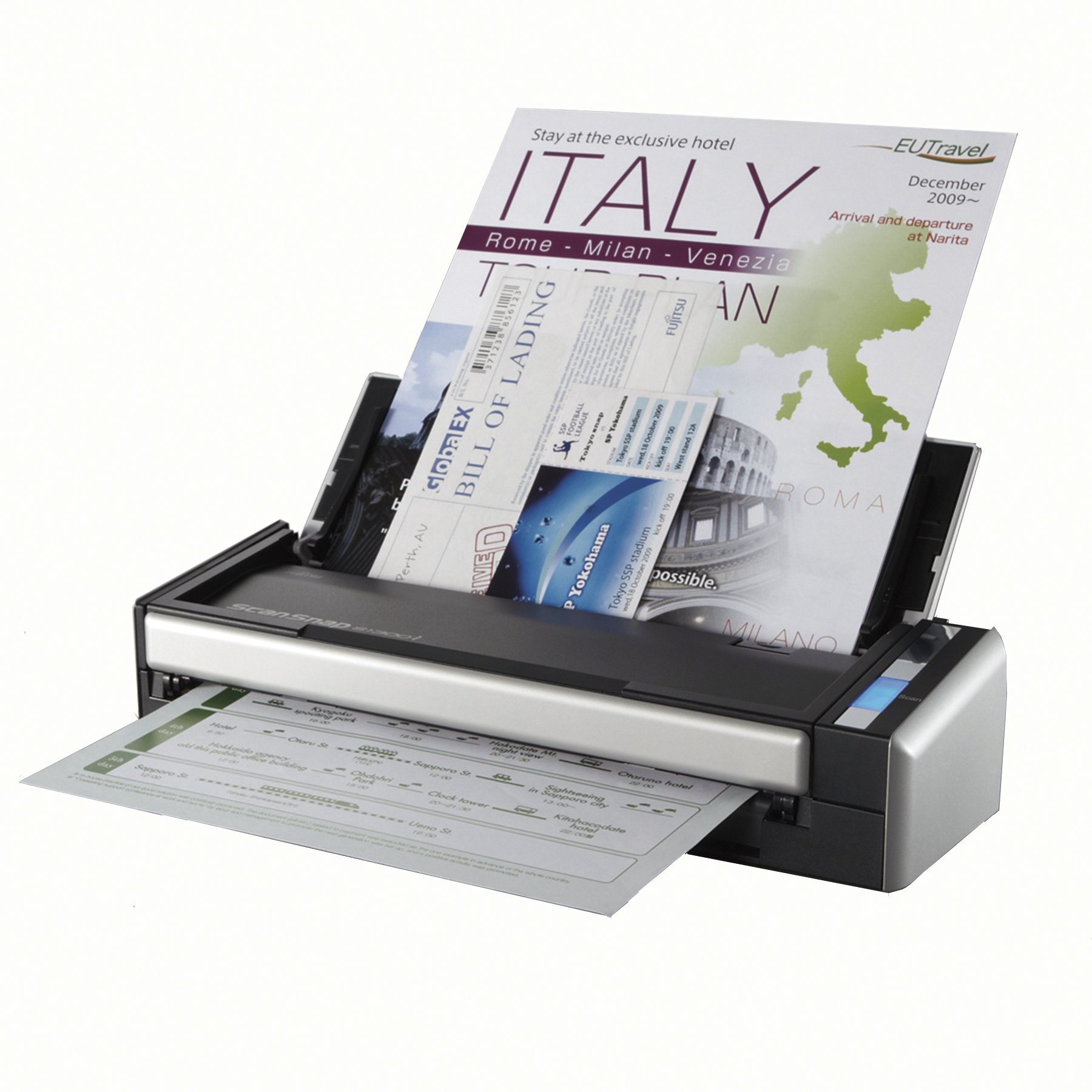 Fujitsu ScanSnap S1300i Portable Color Duplex Document Scanner for Mac and PC by Fujitsu
