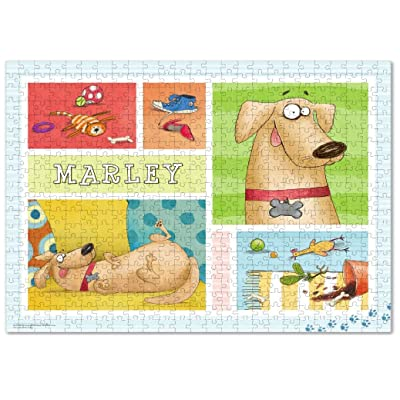 Custom Puzzle for Adults 500 Piece, Boredom Buster Activity, Dog Lover Gift: Toys & Games