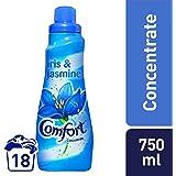 Comfort Concentrated Fabric Softener Iris & Jasmine, 750ml