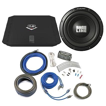 alpine subwoofer wiring kit wire center \u2022 polk audio 12 subwoofer amazon com alpine bass package type a 10 subwoofer dub 200 watt rh amazon com audio wiring kits car subwoofer wiring kit