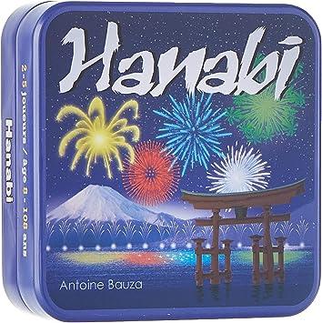 Asmodee - Cghan01 - Hanabi , color/modelo surtido: Amazon.es: Juguetes y juegos