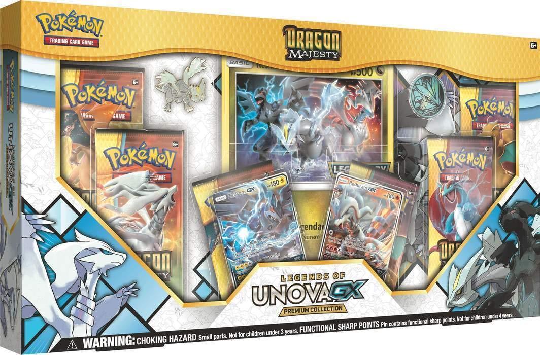 Amazon.com: Pokémon Dragon Majesty White Kyurem GX Box and ...