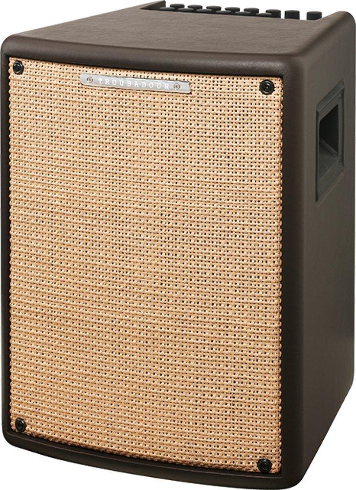 Ibanez T80II Troubadour II Acoustic Guitar Combo Amplifier Brown - 80 Watt w/ Digital Chorus and Reverb by I.B.A.N.E.Z.
