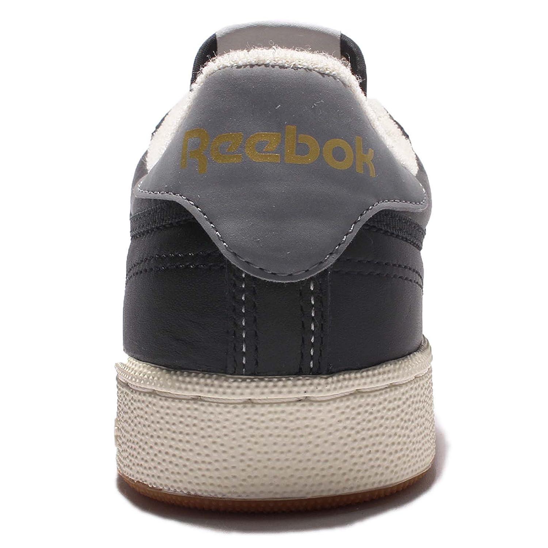 66dcad50a02e5 Reebok Shoes - Club C 85 Retro Gum black grey white size  42.5   Amazon.co.uk  Shoes   Bags