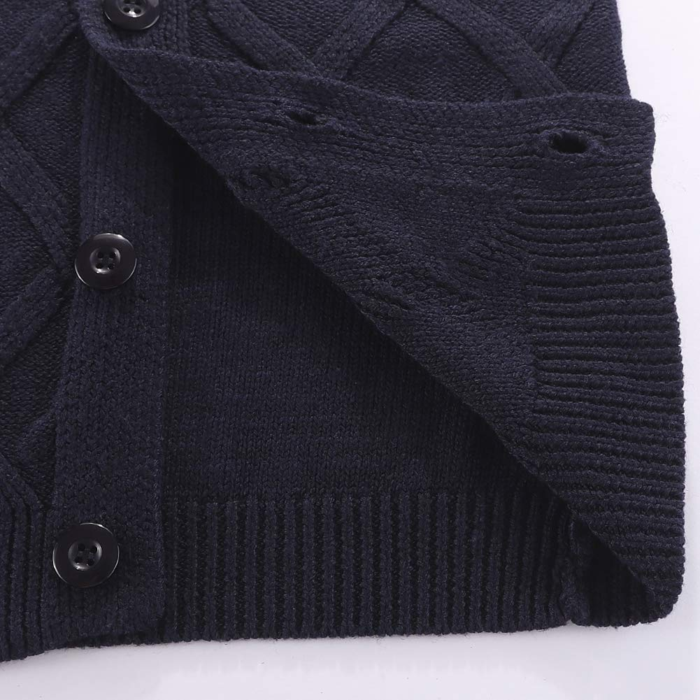 Motteecity Baby Boys Toddler Clothes Unisex Solid Warm Vest Jacket Zipper Closure