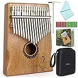 Kalimba Thumb Piano 17 keys Portable Mbira Finger Piano With Mahogany Wood And Tune Hammer Gifts For Adult Kids And Beginners Horse